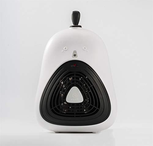 PEIQI HOME Termoventilatore Riscaldatore PTC in Ceramica con Funzione Umidificatore, 800 W / 1500 W per Casa E Ufficio,White