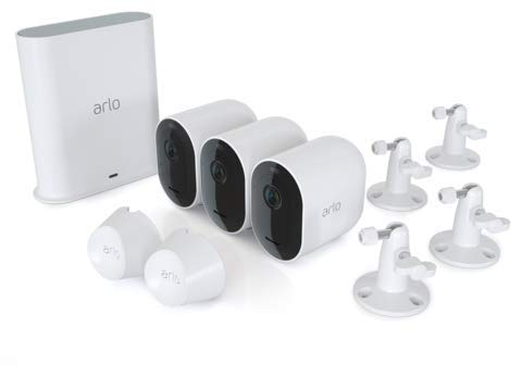 Arlo Pro 3 Wire-Free Security System - 3 Camera Kit