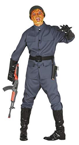 FIESTAS GUIRCA Disfraz de Soldado 2 Zombie de la Guerra Mundial para Disfraz de Terror