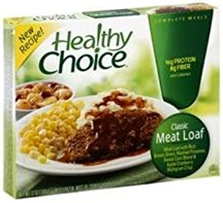 Healthy Choice Classic Meat Loaf Complete Meal, 12 oz, (Pack of 12)