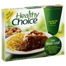 Food Healthy Choice Meatloaf