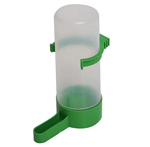 PULABO 1x Vogel Wasserflasche Wasser Futterautomat Wassernapf für Vögel Papageien Wellensittich Wellensittich Nymphensittich Käfig Zubehör Sehr praktisch und beliebt dauerhaft