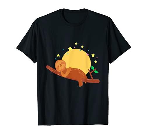 Pereza en la puesta de sol Camiseta
