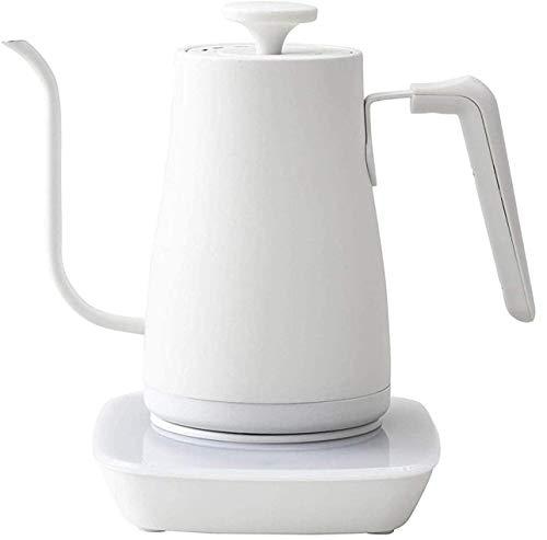 [山善] 電気ケトル 電気ポット 0.8L (温度設定機能/保温機能/空焚き防止機能) ホワイト YKG-C800(W) [メーカー保証1年]