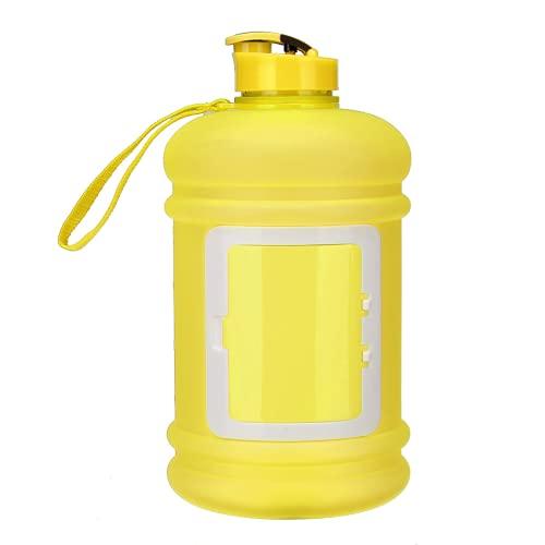 Deportes botella de agua 2.2L alta capacidad deportes al aire libre corriendo botella de agua gimnasio hervidor portátil para deportes bicicleta correr senderismo yoga