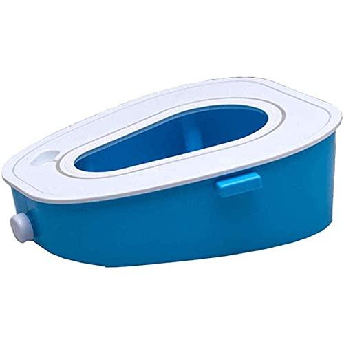 Massage-AED Portátil De Camping Toilet Inodoro para Automóvil Urinario Portátil De Emergencia Móvil para Viajes Senderismo Viajes Largos Tráfico Inodoro Móvil Asiento De Inodoro para Niños/Anciano