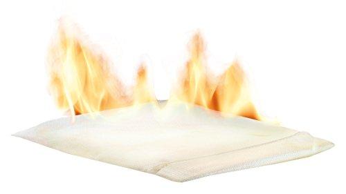 firebag Feuerfeste Tasche: Feuersichere Dokumententasche für Reisepass, Urkunden, Fotos u.v.m. (Feuerfeste Dokumententasche)