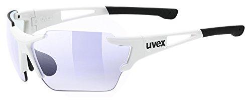 uvex Unisex– Erwachsene, sportstyle 803 race vm Sportbrille, white, one size