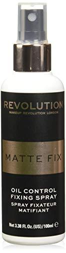 Makeup Revolution Pro Fix Oil Control Fixing Spray, 100ML