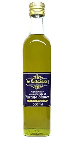 Aceite De Oliva Virgen Extra con Trufa Blanca 500 ml - Producto Típico Italiano