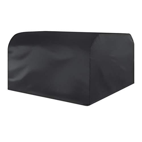 Artículos para el hogar Muebles WjAnti-UV a Prueba de Agua a Prueba de Polvo Sillas Mesa Plegable 210D Oxford Tela Cubierta Protectora al Aire Libre Juego de Tapas, tamaño: 250 * 250 * 90cm (Negro)