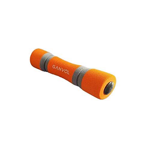 Ganvol 1PC 0.5 kg Dumbbell with Soft Grip 20.5 * 4.3CM for Yoga/Pilates/Home Rehabilitation/Fitness Training