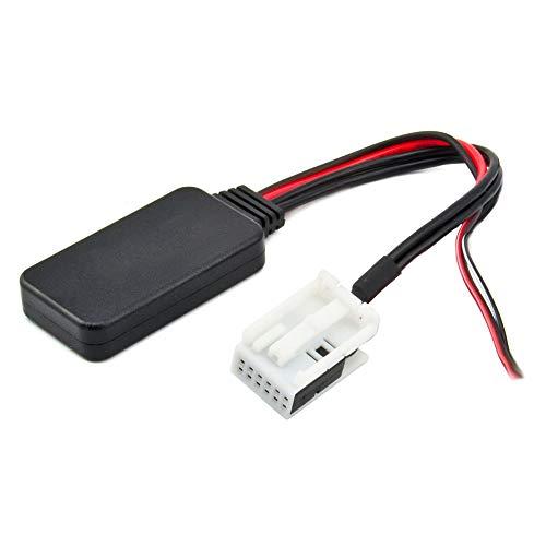 KKmoon Autoradio AUX Adapter BT MP3 Aux-In Ersatz für Volkswagen Radio RCD110 RCD210 RCD310 RCD510 RNS510