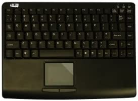 Adesso, Inc - Adesso Akb-410Ub Slim Touch Mini Keyboard With Built In Touchpad - Usb - 88 Keys - Black