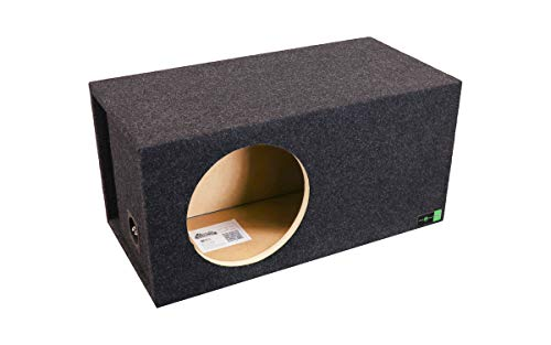 "Atrend SQ-12LSVDD Soundqubed 12 "" Single Vented SPL Subwoofer Enclosure"