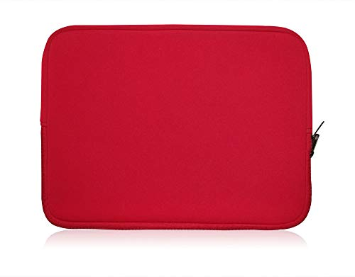 Sweet tech RED Neoprene Laptop Case Cover Sleeve Suitable for OYYU Ubook6...
