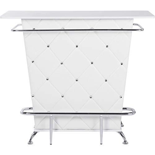 Bar Lady Rock blanc 120cm Kare Design