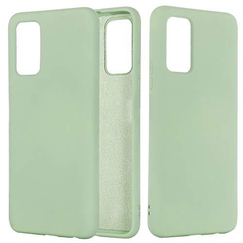 YDYX AYDD para HUBAWEI Honor 30 Pro SILIDO Color LÍQUIDO Funda Protectora a Prueba de caudales. (Color : Green)