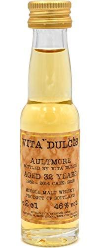 Aultmore 32 Jahre 1982-2014 Cask 2226 bottled by VD Whisky Sample 0,02l