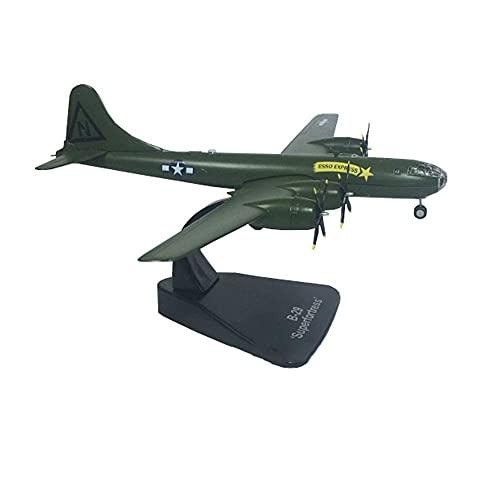 GLXLSBZ Modelo de aleación de Bombardero estratégico Boeing B-29 a Escala 1/144, Juguetes y Regalos para Adultos, 8,7 Pulgadas x 11,4 Pulgadas