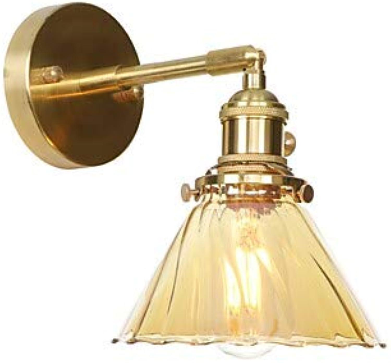 Ministil Moderne zeitgenssische Wandlampen Studierzimmer Büro Shops Cafés Kupfer Wandleuchte 85-265V