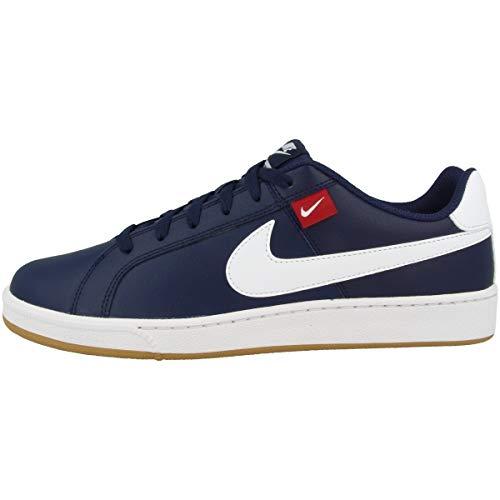 Nike Court Royale Tab, Zapatillas de Tenis Hombre, Multicolor (Midnight Navy/White/Gym Red/FLT Gold 400), 42.5 EU