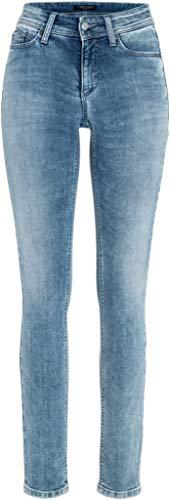 Cambio Damen Jeans mit Swarovski Steinen Parla Größe 4432 Blau (blau)