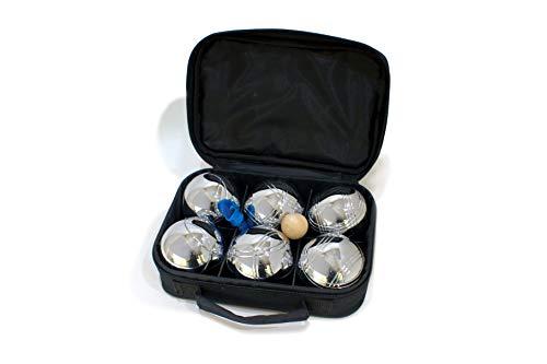 IPS Juego de Petancas de 6 Bolas + Accesorios | Diferentes Modelos de Bolas metálicas | Set Completo