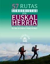 57 Rutas senderistas por Euskal Herria (Senderismo)