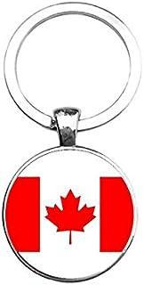Sleutelhanger Glas - Canada