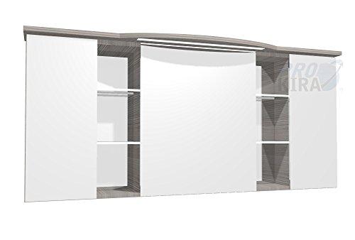 PELIPAL Contea Spiegelschrank inkl. LED Beleuchtung / CTS3D8-1573-16 / Comfort N/B: 158 cm
