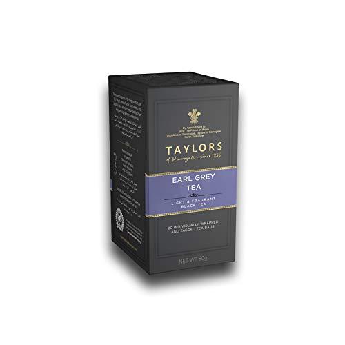 Taylors of Harrogate Earl Grey Tea - 1 x 20 Bolsitas de Te Individualmente Envueltas y etiquetadas (50 Gram)