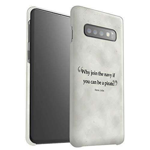eSwish telefoonhoesje/Cover/Skin/SG-3DSWM / Beroemde citaten collectie Samsung Galaxy S10 Plus Steve Vacatures