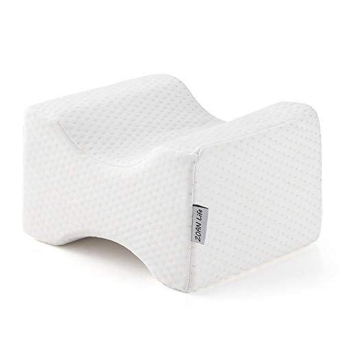 ZOAN Knee Pillows for Side Sleepers, Memory Foam Professional for Back and Hip Pain, Relieve Pregnancy Sciatic Pressure, Better Circulation with...