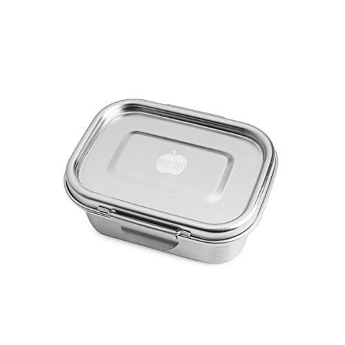 Dichte Lunchbox 'BUDDY' aus Edelstahl, 550 ml - 100% BPA frei, fest verschliessbar