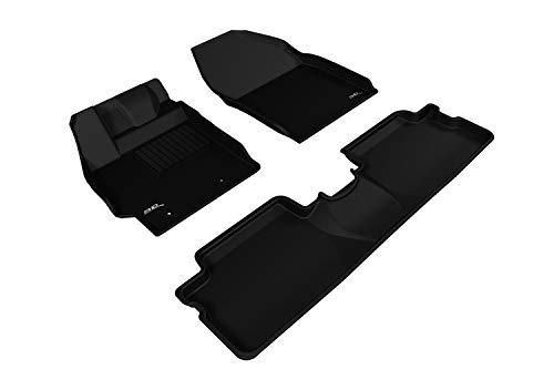 3D MAXpider - L1SC00501509 Fußmatte für ausgewählte Scion XB Modelle – Kagu Gummi (schwarz)