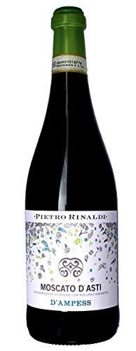 6x 0,75l - 2017er - Pietro Rinaldi - d'Ampess - Moscato d'Asti D.O.C.G. - Piemonte - Italien - Weißwein süß