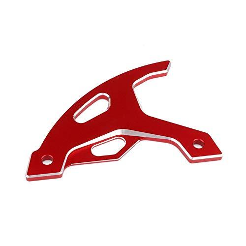 Bueno Protector de Disco de Freno Trasero de Motocicleta Aleación de Aluminio 6061-T6 Robusto y Resistente a la Corrosión Adecuado para Motocicleta Todoterreno Honda XR250/400/600R XR650L calidad