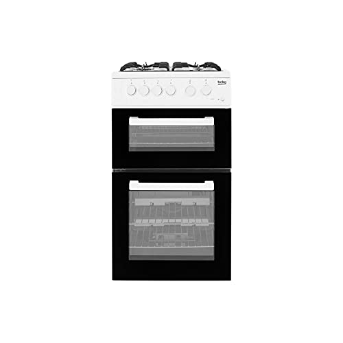 Beko KDG581W Freestanding A+ Rated Gas Cooker in White