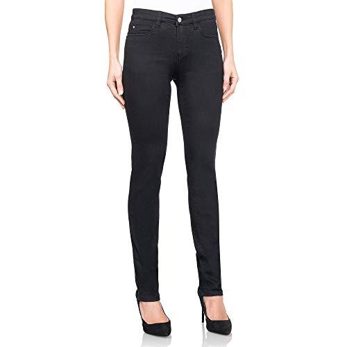 Wonderjeans® Classic Regular Black - Pushup-Effekt - Umschmeichelt Ihren Körper, formt Ihren Po und Wird Ihnen mindestens eine Nummer Kleiner passen als eine übliche Jeans! (34W / 30L)