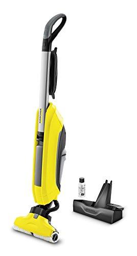 Kärcher Hartbodenreiniger FC 5 – elektrischer Bodenreiniger für 60 qm – müheloses Reinigen in einem Arbeitsgang