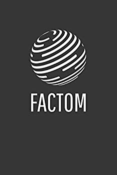 Factom Notebook  Lined Journal 120 Pages 6 x 9 Affordable Cryptocurrency Blockchain Crypto Gift Journal Matte Finish