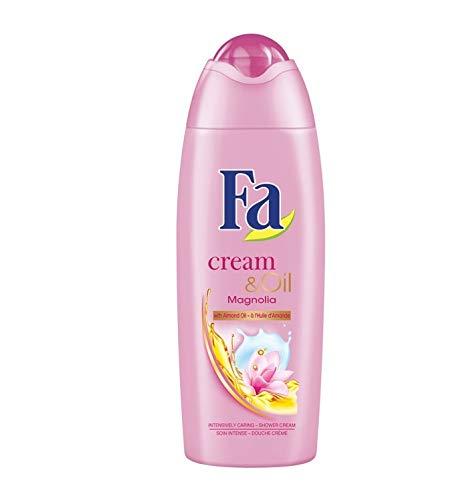 Fa Women Duschgel - Cream & Oil Silk Magnolia - 3er Pack (3 x 250ml)