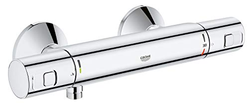 GROHE Precision Start Thermostat-Brausebatterie (DN 15, Wandmontage) chrom, 34594000