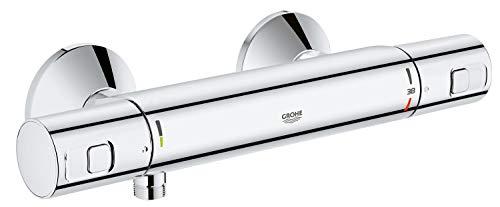 Grohe Precision - Grifo termostático, EcoButton, EcoJoy, Starlight, TurboStat, SafeStop Ref. 34594000