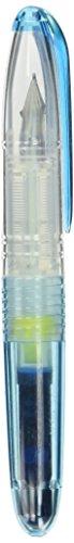 Pilot Portable Color Fountain Pen, Petit1, Clear Blue (SPN-20F-CL)