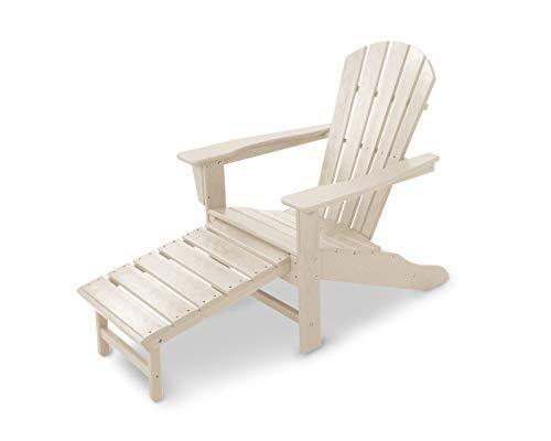 Polywood HNA15SA Palm Coast Adirondack Chair, Sand