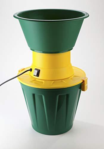 Agrishop Elektrische Getreidemühle, 600 W, auch für Hülsenfrüchte, Getreide