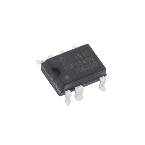 TOP254GN PMIC AC/DC switcher,SMPS controller 59.4-72.6kHz SMD-8C POWER INTEGRATI