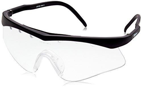 Wilson Jet Gafas de Squash, Unisex, Negro, Talla Única 🔥
